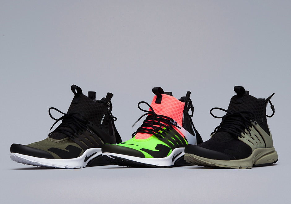 The ACRONYM x Nike Presto Mid In Detail