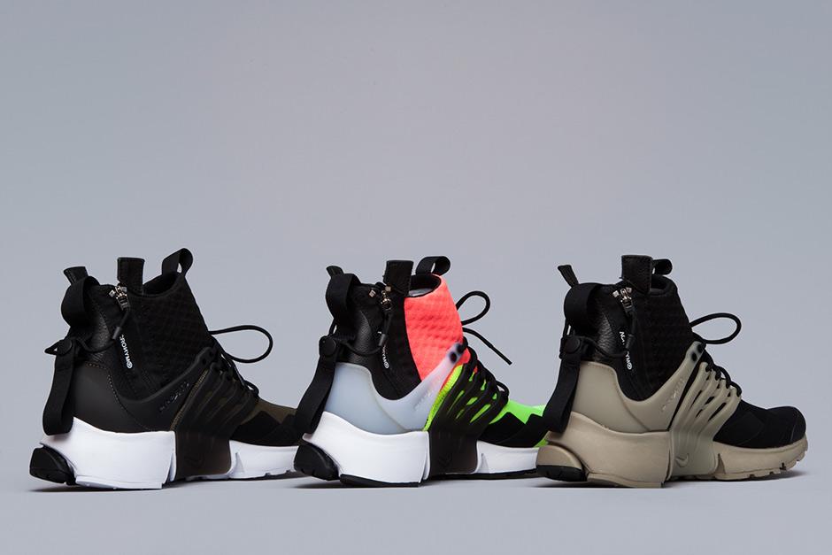 hot sale online 55221 e7db5 ACRONYM Nike Presto Mid - Release Info  SneakerNews.com