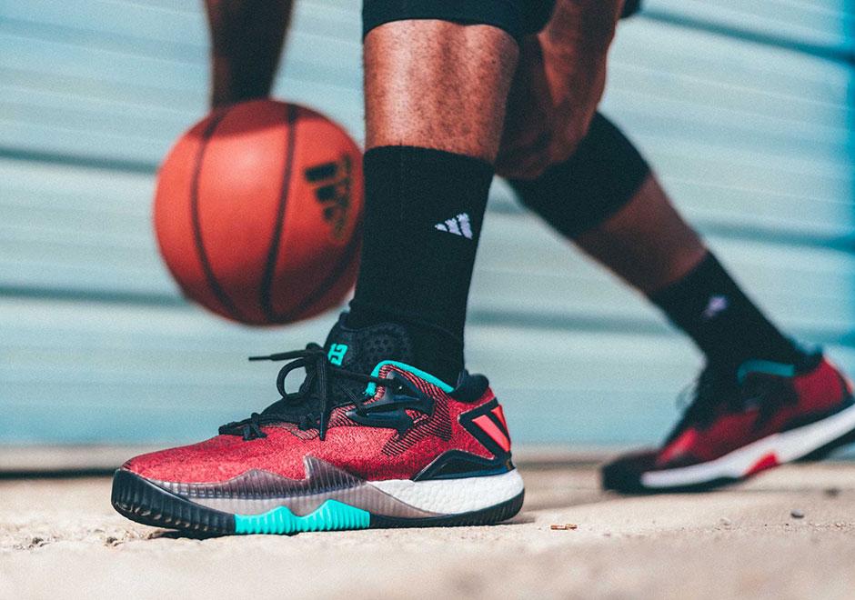promo code 4c272 8a90e adidas Crazylight Boost James Harden Ghost Pepper  SneakerNe