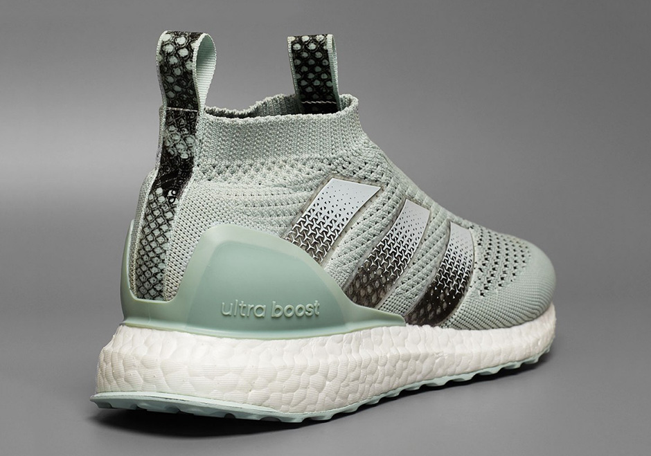 hot sale online 3b620 21d9e adidas ACE 16 Ultra Boost Mint Available | SneakerNews.com