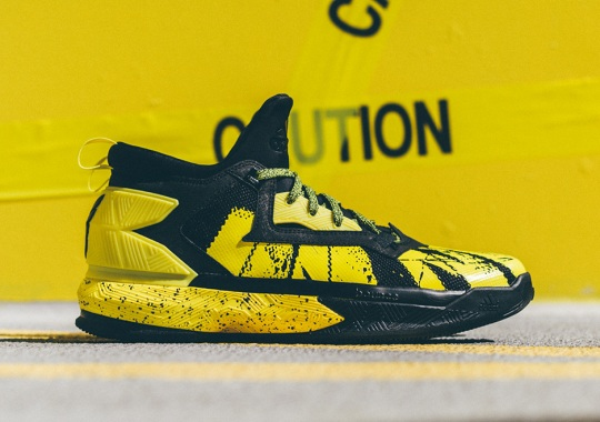 "online store 5ef68 32d09 adidas and Damian Lillard Drop The New D Lillard 2 ""Yellow Tape"" Colorway"