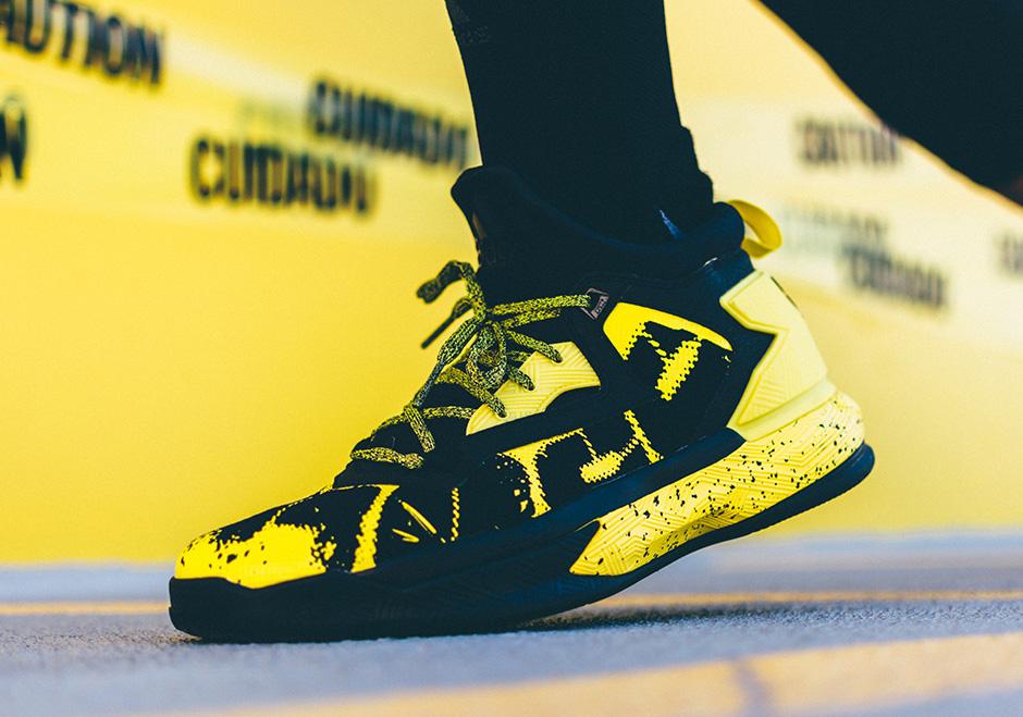 promo code 16389 34796 adidas D Lillard 2 Yellow Tape Release Date Info   SneakerNews.com