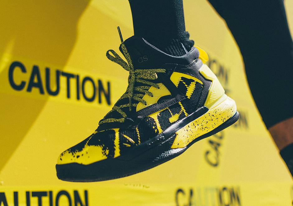 adidas D Lillard 2 Yellow Tape Release Date Info  610e62022