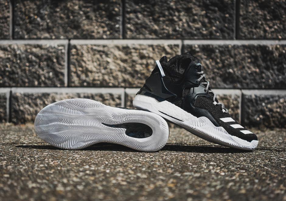 adidas D Rose 7 Boost Core Black White  7de9c50842