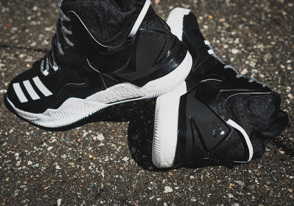 adidas D Rose 7 Boost Core Black White  63e6bfc91b97