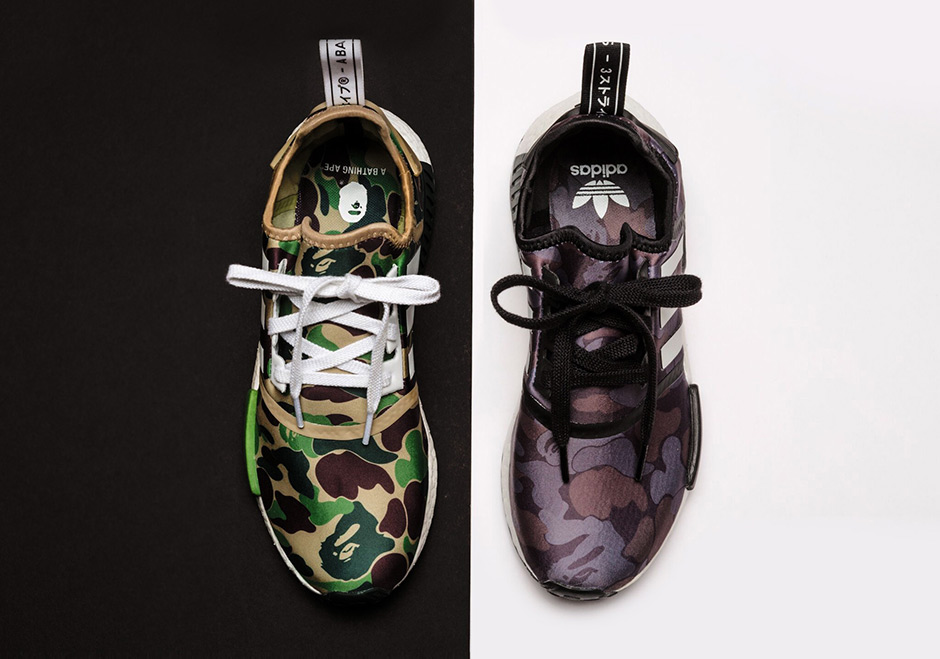 BAPE NMDs by adidas Where to buy |