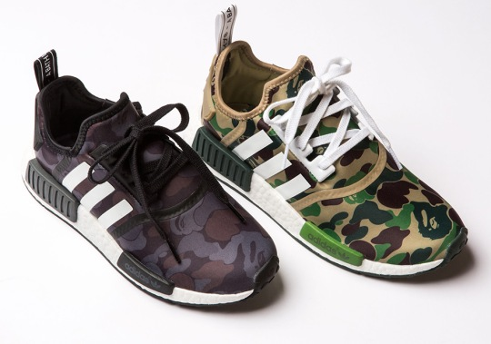 A Detailed Look At The BAPE x adidas NMD R1