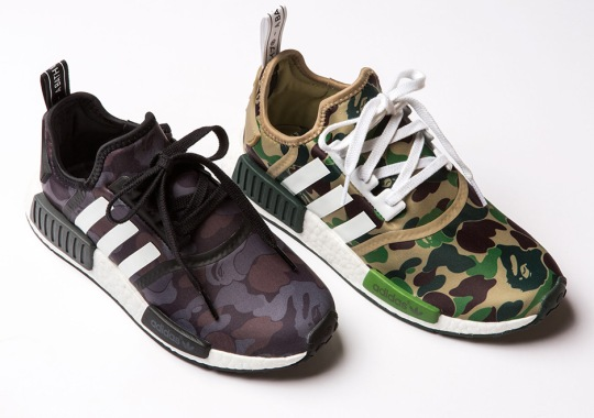 cfbf59fae A Detailed Look At The BAPE x adidas NMD R1