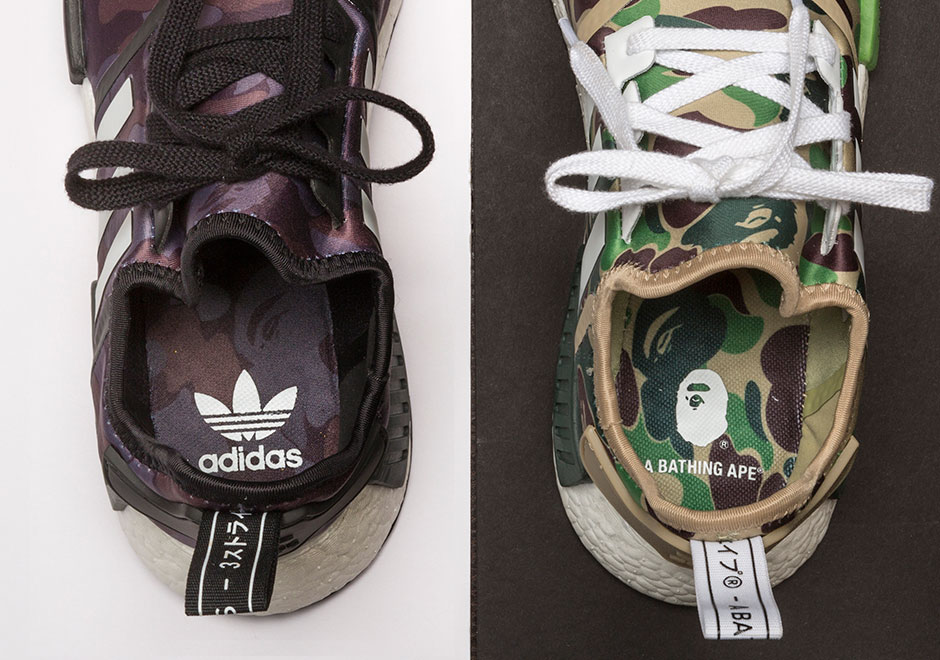 9ee5dd629d279 BAPE adidas NMD Release Info + Detailed Photos