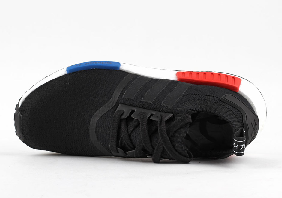 adidas nmd bleu rouge