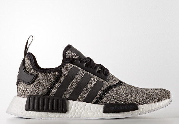 Adidas NMD_R1 Wool Grey Burgundy Black B39506 Champs