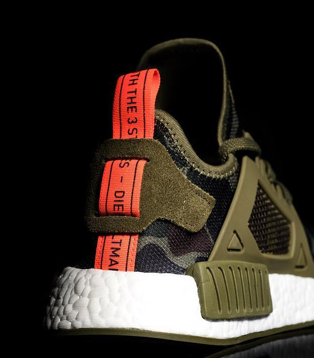 fddea25f1 Adidas NMD XR1 Boost Runner Yeezy PK Sneakers New Black Glitch