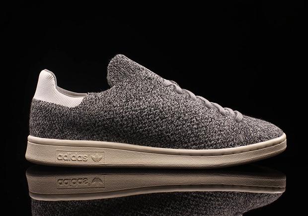 adidas primeknit stan smith grey
