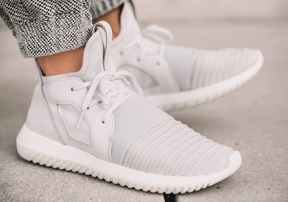 watch 0e16b 46e12 adidas Tubular Defiant Woven Knit Uppers   SneakerNews.com