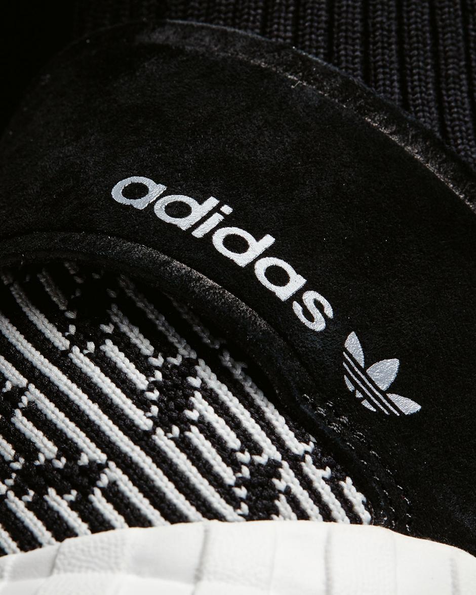 Adidas Rørformet Undergang Primeknit Glatt, Svart