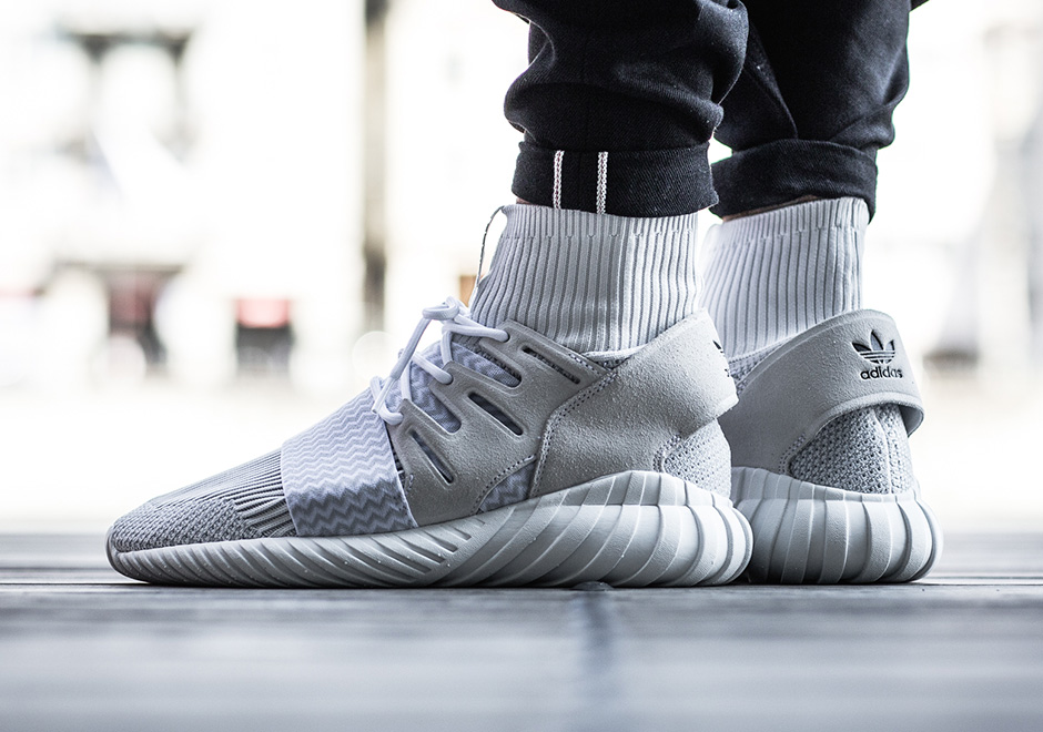 7c5753a9fb6 adidas Tubular Doom Primeknit. Color  Vintage White Footwear Whtie Core  Black Style Code  S80509 Release Date  September 9