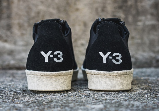 adidas Y-3 Adds Zippers To The Superstar