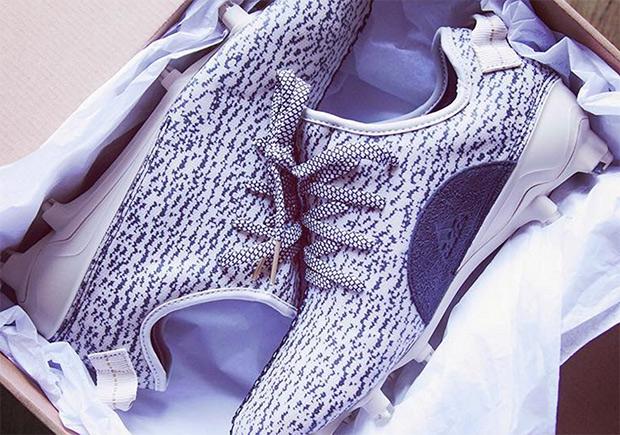 6e6058e1f8f2d ... Deandre Hopkins adidas Yeezy Boost 350 Cleats SneakerNews.com ...