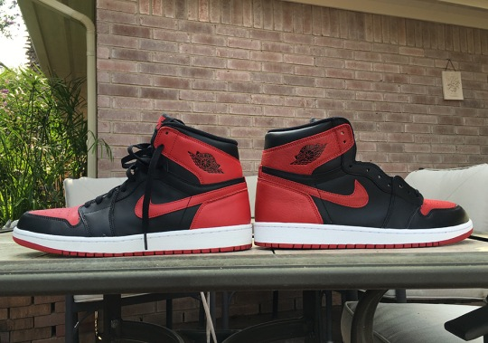 "The Air Jordan 1 ""Banned"" From 2016 And 2013 Are Extremely Different"