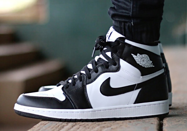 new product 982ea 4bdda Air Jordan 1 Black White February 2017 555088-021 ...