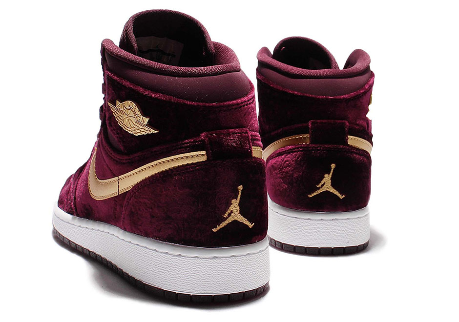 Air Jordan 1 Heiress Velvet 832596-640  bdb79f9d8