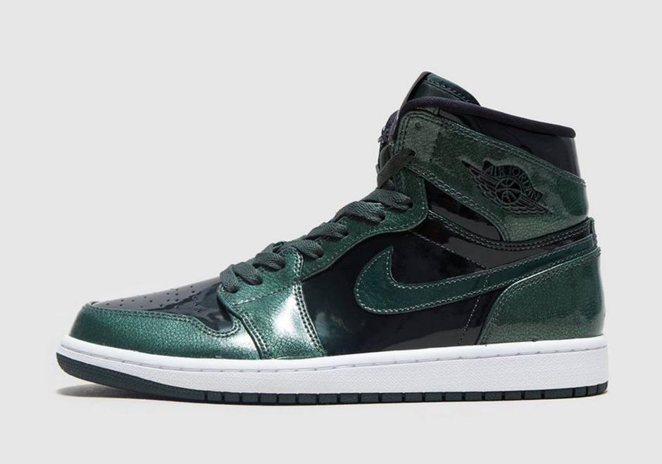 High Patent Air Grove 1 Leather Green Jordan rCtsdhQ