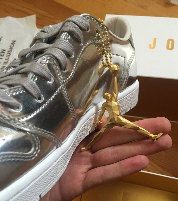 coupon code price reduced dirt cheap Air Jordan 1 Low Pinnacle Metallic Silver 852549-003 ...
