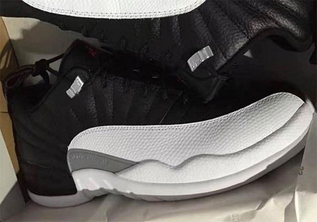 """The Air Jordan 12 """"Playoffs"""" Will Return As A Low In 2017"""