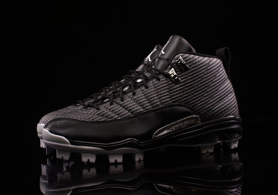 91f86a0a435b Air Jordan 12 MCS Baseball Cleat 854566-010