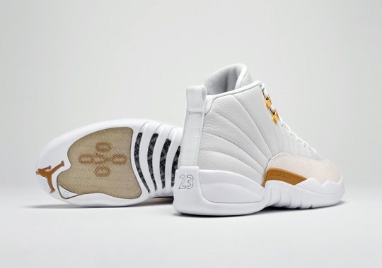 Air Jordan 12 OVO Releasing On Nike SNKRS Drawing