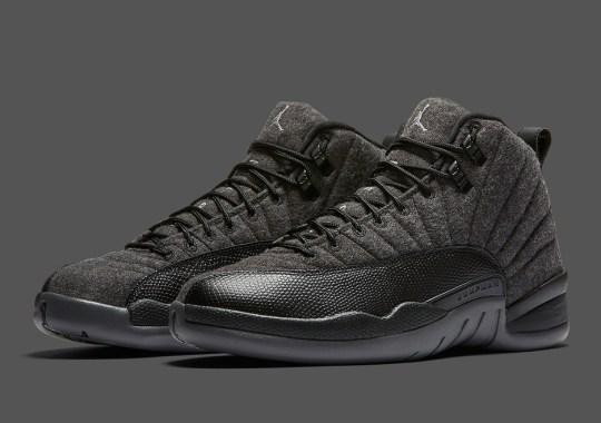 """Air Jordan 12 """"Wool"""" Release Date Moved Forward One Week"""