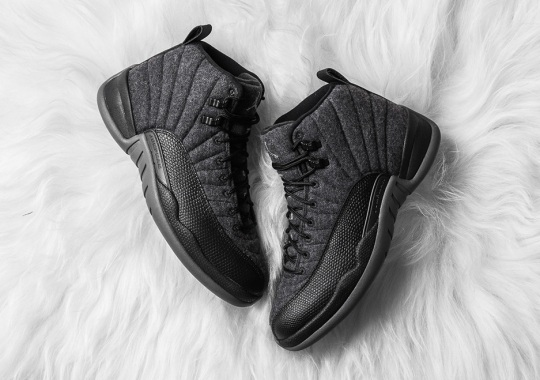 "Air Jordan 12 ""Wool"" Hits Stores Tomorrow"