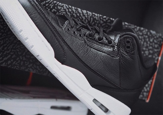 """The Air Jordan 3 """"Cyber Monday"""" Releases On October 15th"""