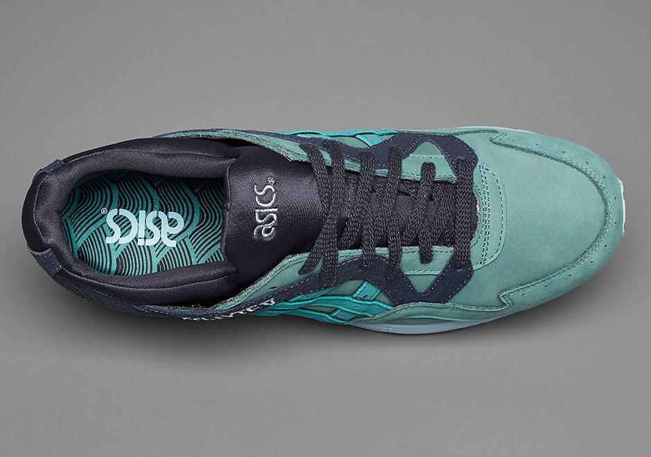finest selection 81435 b5569 ASICs GEL-Lyte V Summer Escape Teal Grey | SneakerNews.com