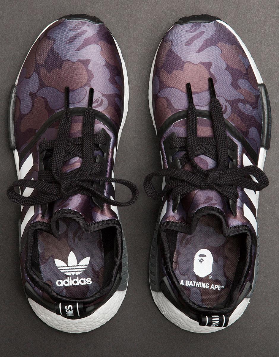 BAPE adidas NMD Release Info Detailed Photos | SneakerNews.com