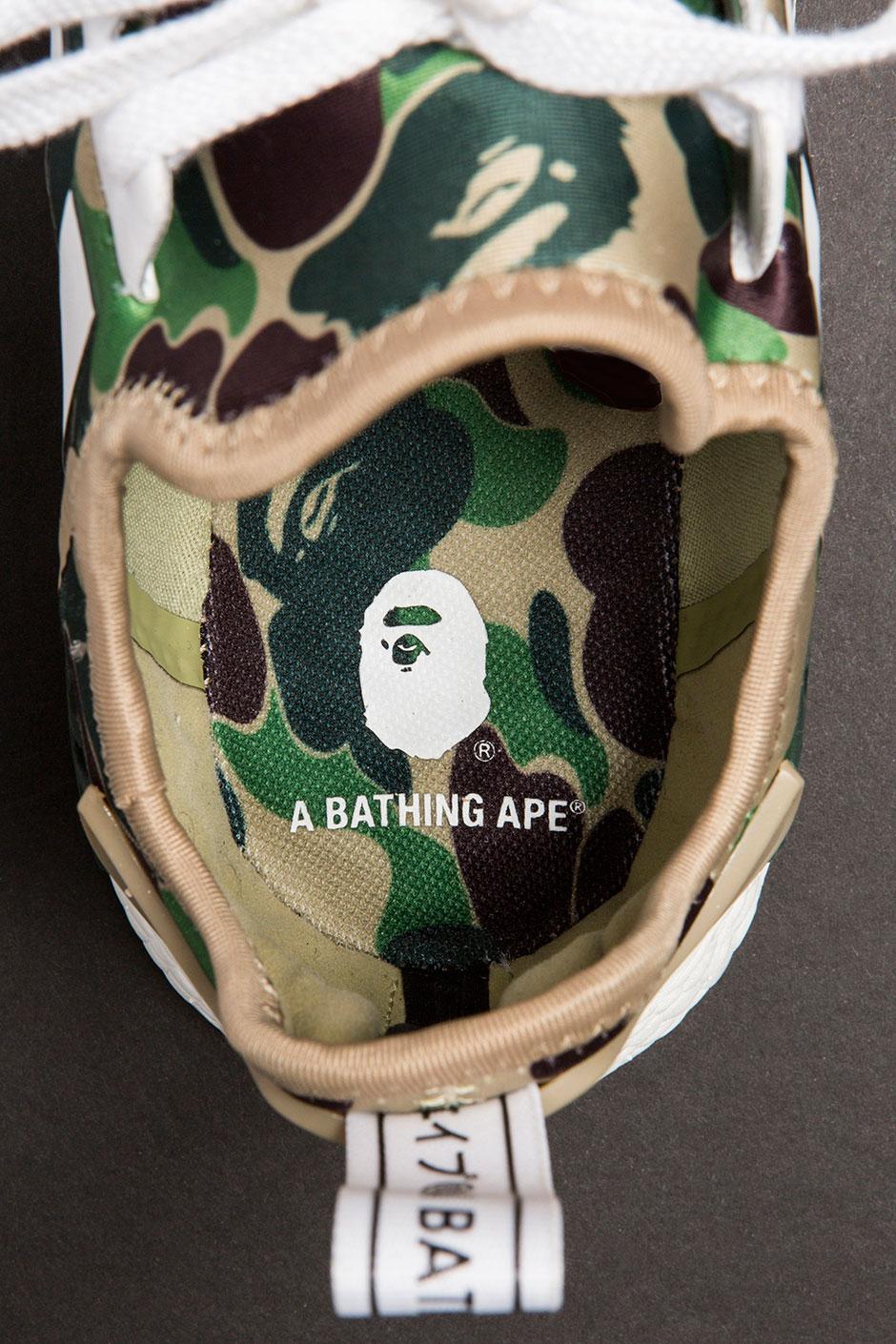 best service ff6c5 e9b65 BAPE adidas NMD Release Info + Detailed Photos   SneakerNews.com