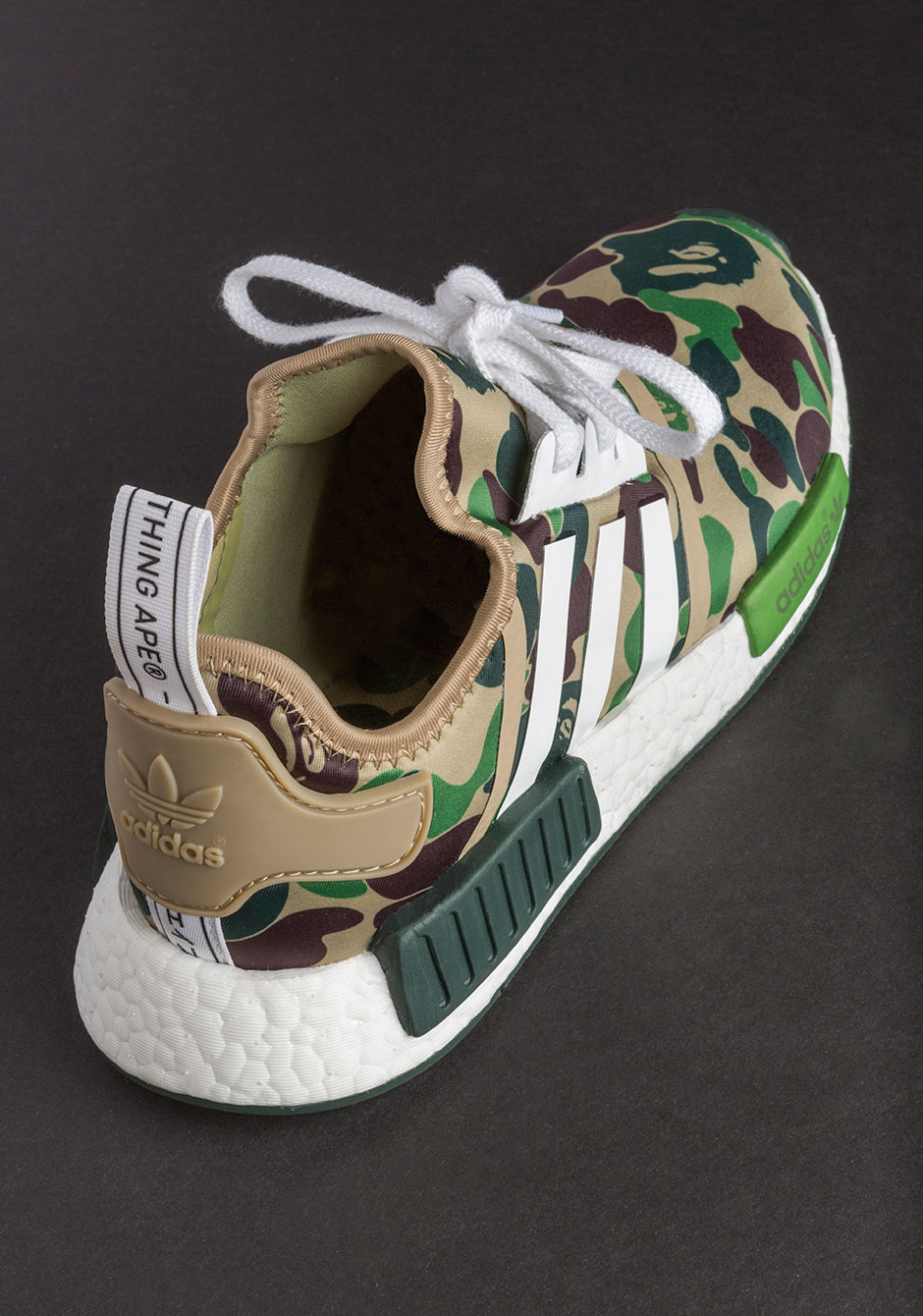 BAPE x adidas NMD R1 细节图 资讯 AJ23 Air Jordan Sneaker