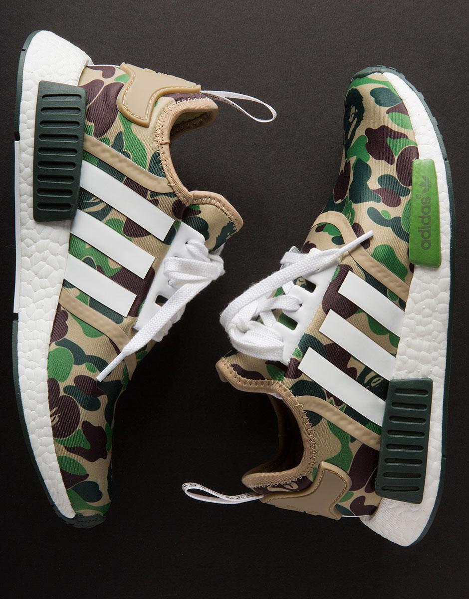 sale retailer dbe89 bd589 BAPE adidas NMD Release Info + Detailed Photos | SneakerNews.com
