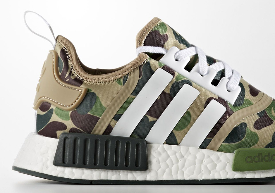 bape adidas nmd release date