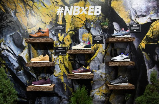 Extra Butter and New Balance Open Pop-Up Shop For New Outdoor Footwear