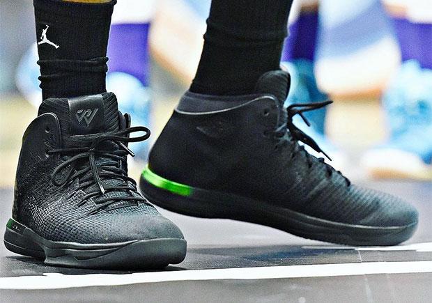 Jordan 31 Black Green Russell Westbrook