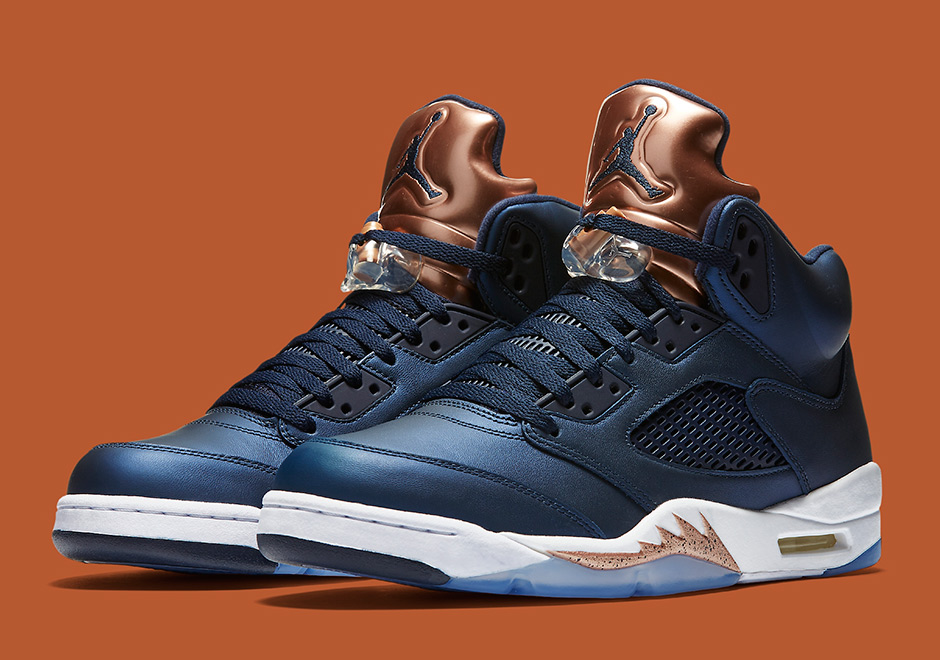"huge discount 52ad0 10498 The Air Jordan 5 ""Bronze Tongue"" Releases This Saturday"