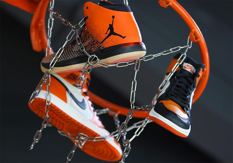 """The connection between the Air Jordan 1 and Air Jordan 31 continues to  strengthen. The next release of the AJ31 re-tells the """"Shattered Backboard""""  story a71cd9910433"""