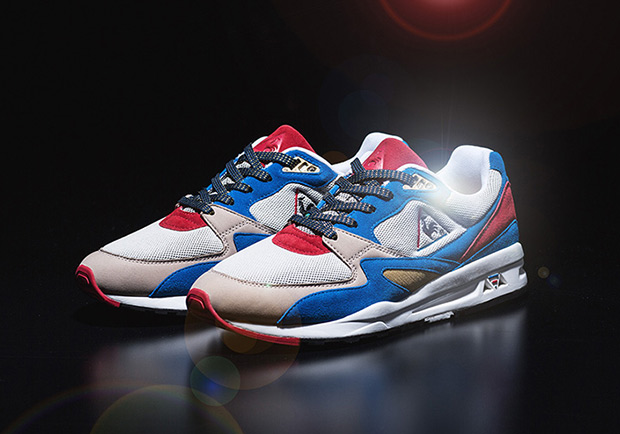Kicks Lab Honors The French Tri-Color With Le Coq Sportif Collaboration