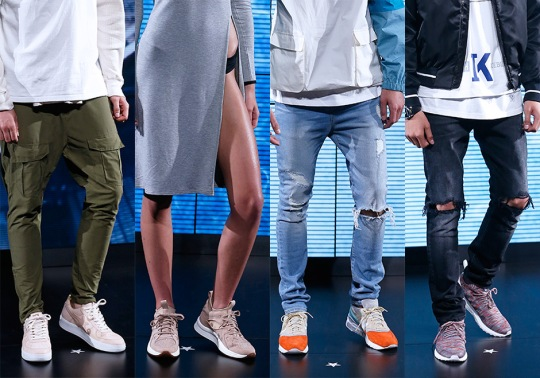Ronnie Fieg's KITHLAND Runway Show Reveals Sneaker Collaborations With BAPE, adidas, & More
