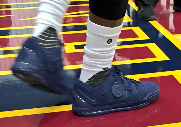 LeBron James Wears Unreleased Nike LeBron 3 Low For Cavs Media Day durable  modeling 4bc68deb8f