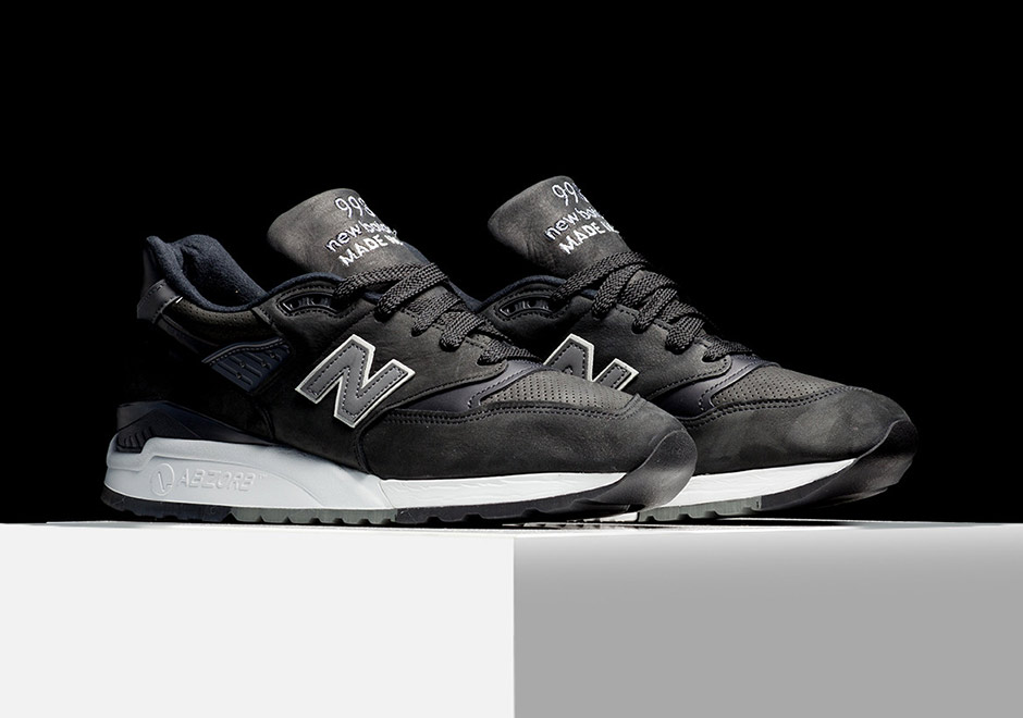 new products 4a97c ce1ea New Balance 998 Ash Black Nubuck M998DPHO | SneakerNews.com