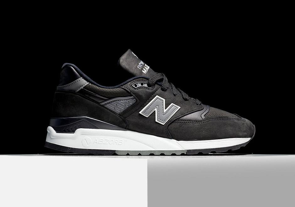 new products 0cae8 f0985 New Balance 998 Ash Black Nubuck M998DPHO | SneakerNews.com