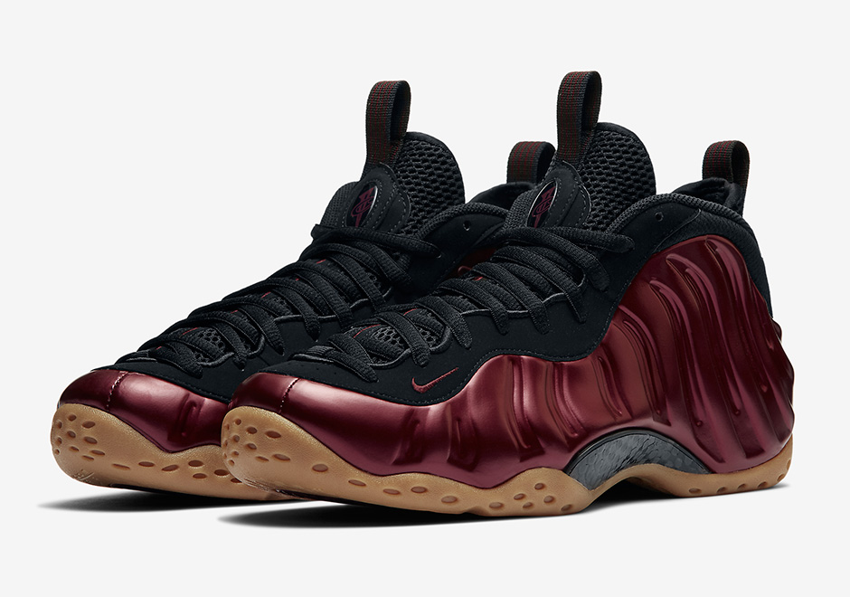 cd8235e887b Nike Air Foamposite One Maroon Gum Release Date 314996-601 ...