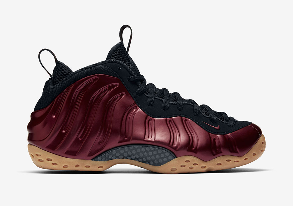 new arrival 06227 c8fff Nike Air Foamposite One Maroon Gum Release Date 314996-601 ...
